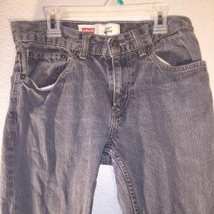Levi's boys denim jeans 28x28 size 16 regular 511